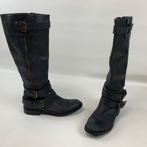 Enzo Angiolini Boots Knee High RIding Leather
